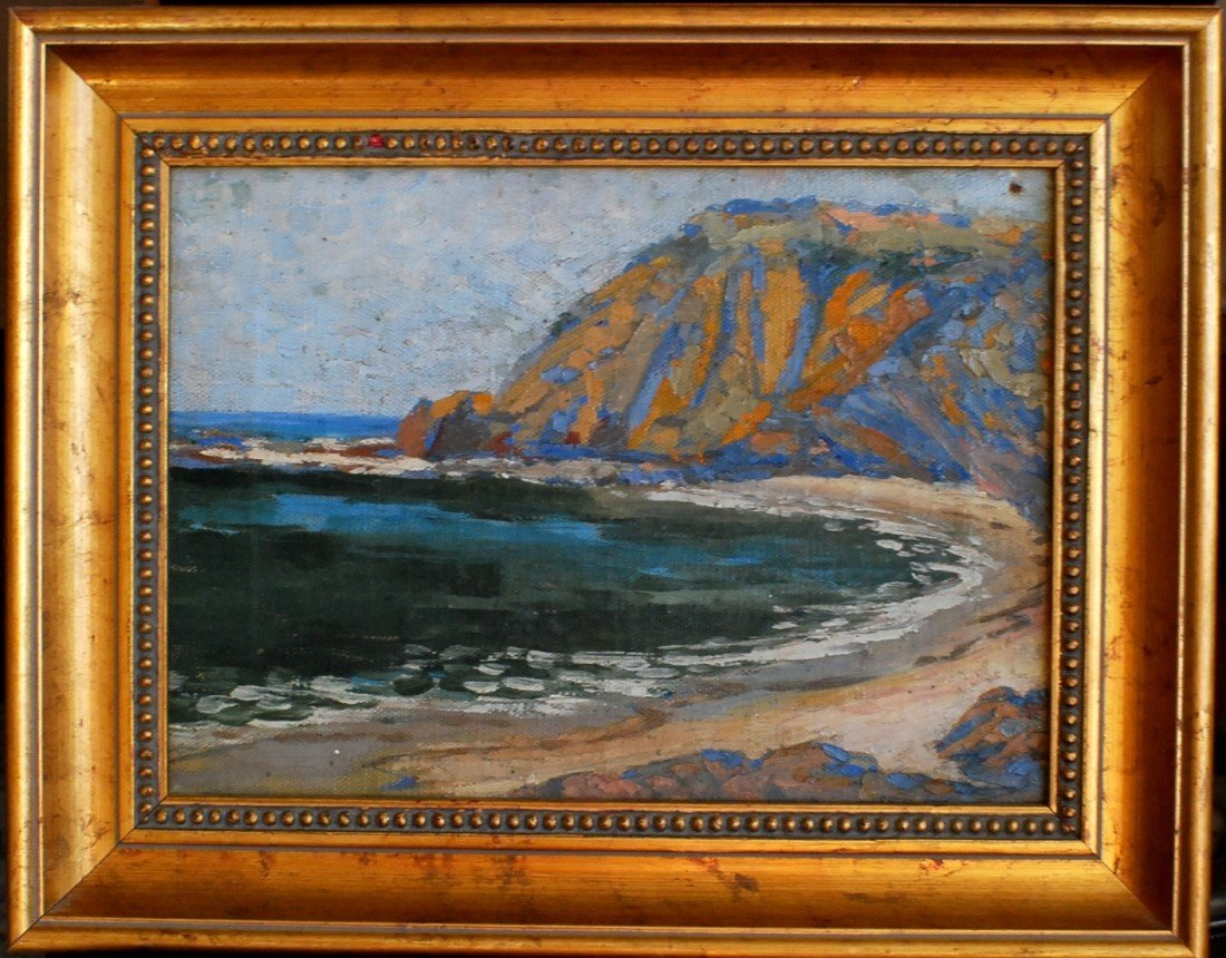 11: Early 1900's landscape, not signed