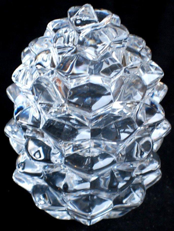 16: Tiffany Crystal Trinket Box