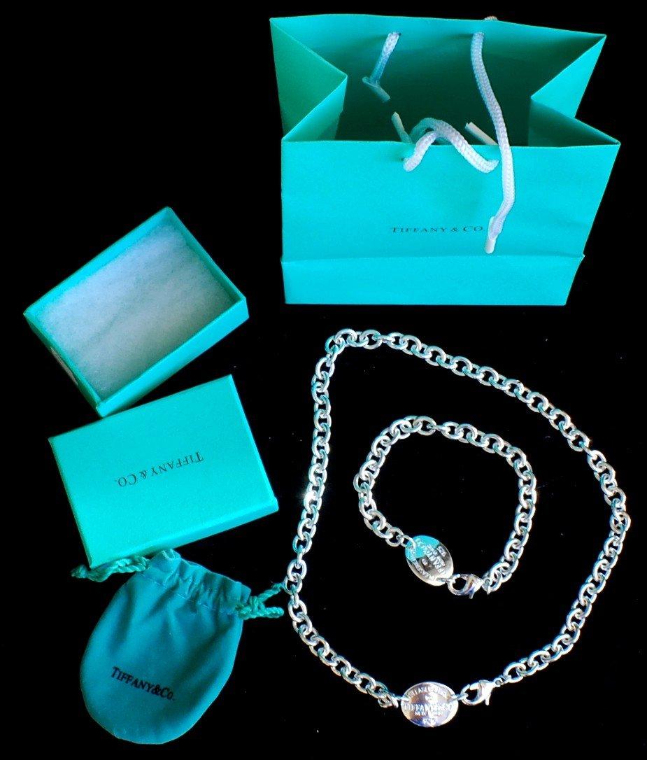 18: Tiffany Bracelet and Necklace