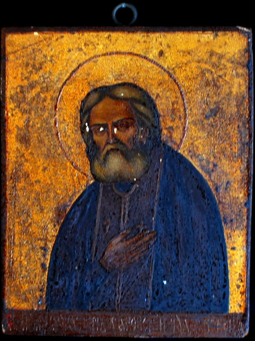 18: Late 1800's – early 1900's Icon on wood