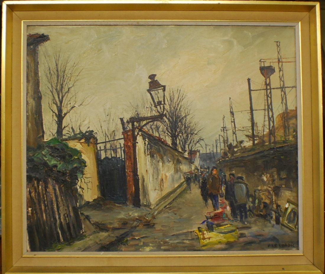 """20: Francis Le Coadic (French, b.1912) """"La Marche Des C"""