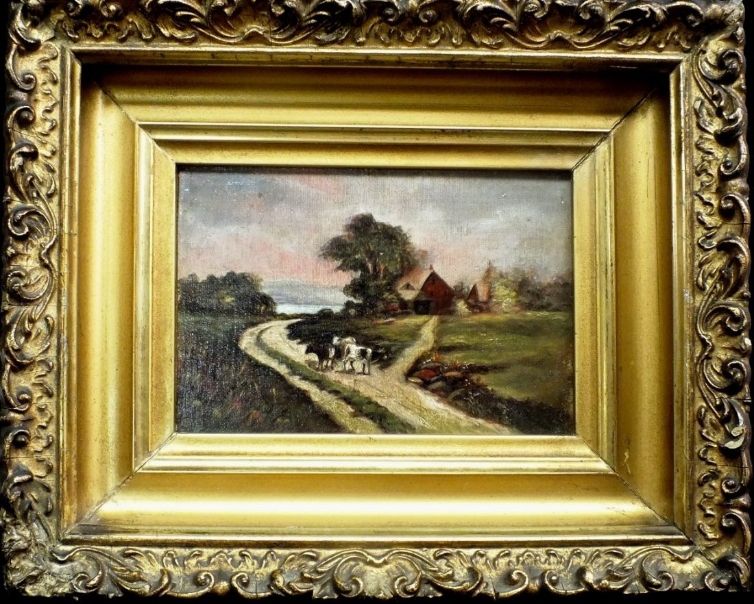 "24: James T. Breen  (19/20th century) ""The Village Road"