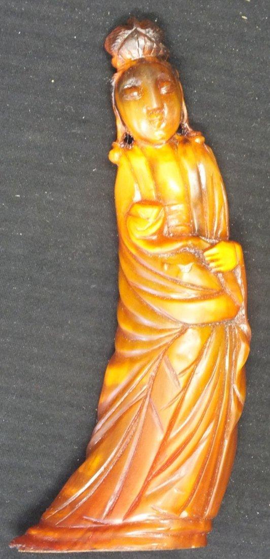 2: Japanese Ox-Bone Lady's Figurine