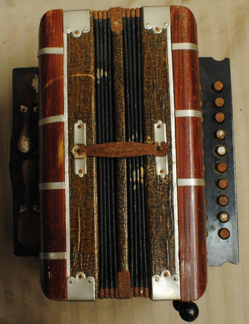 5: Early 1900's RIGOLETTO Harmonica, Germany