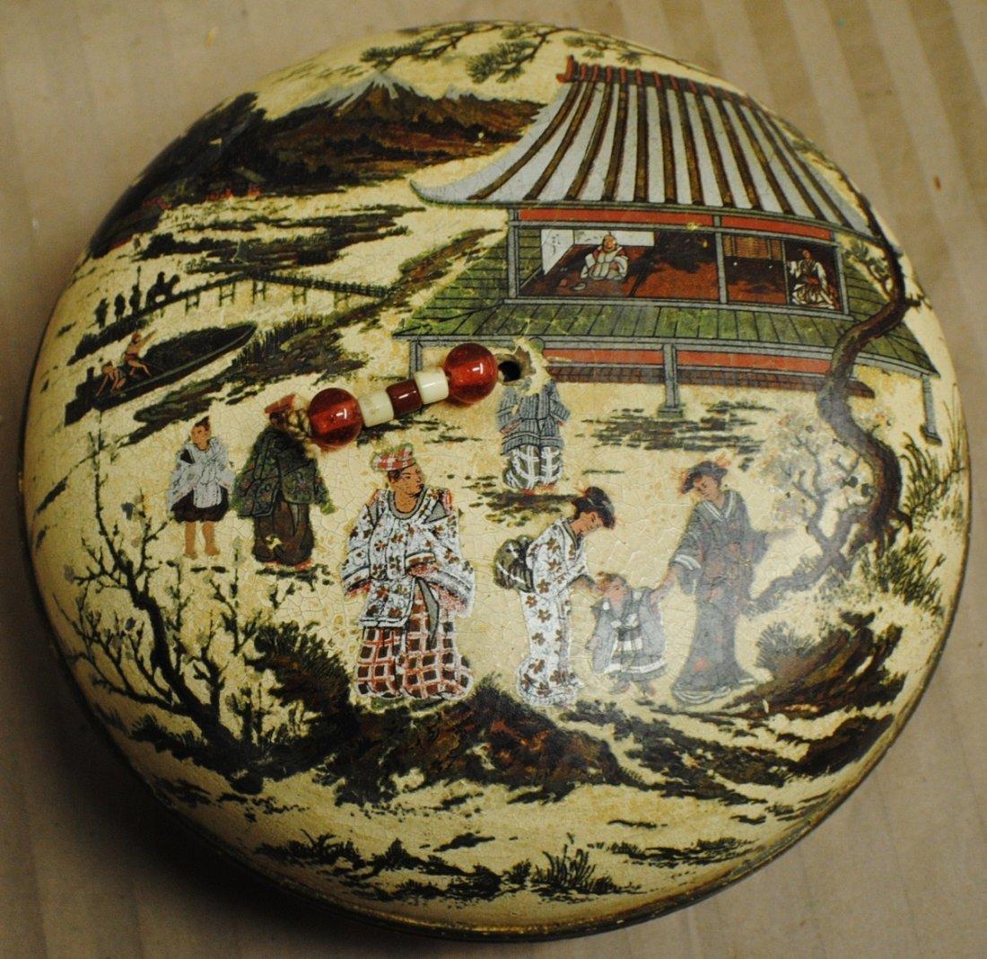 14: Chinese hand painted box