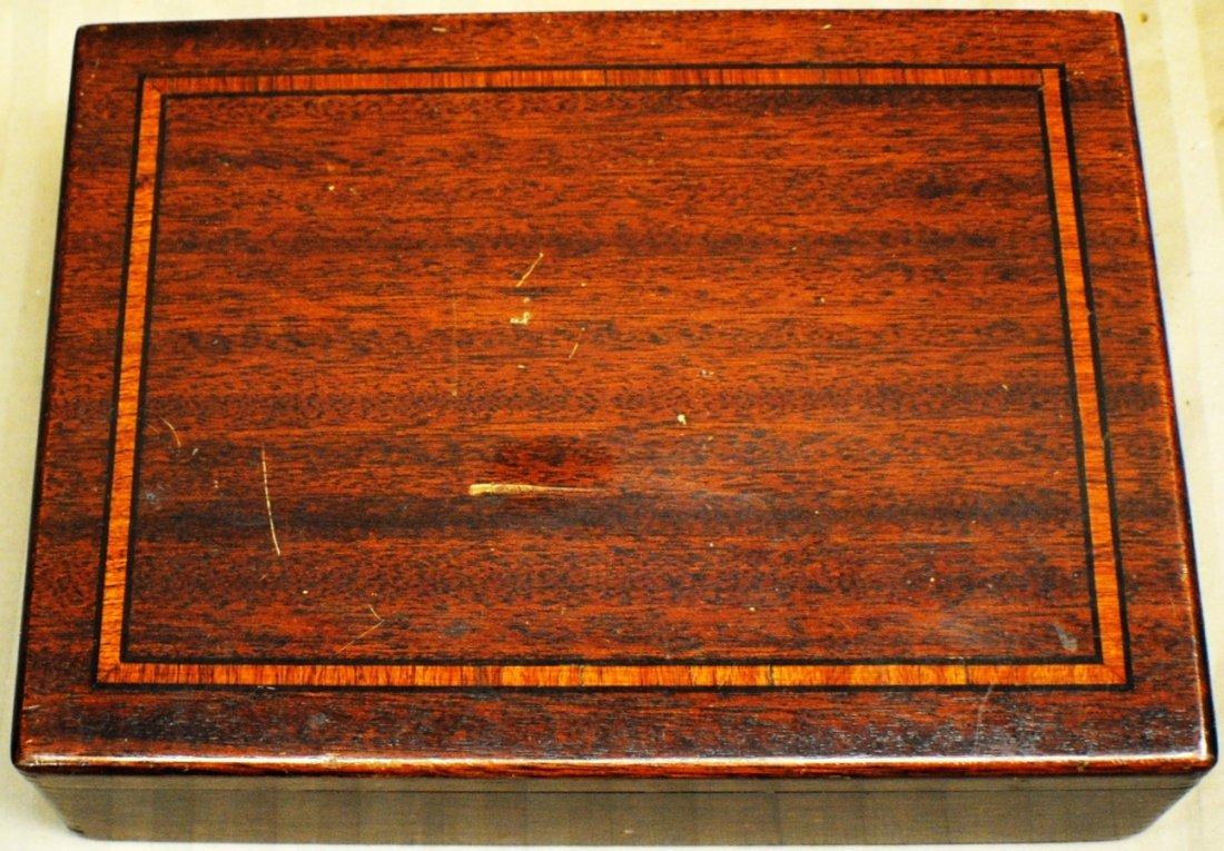 23: Inlaid wooden box