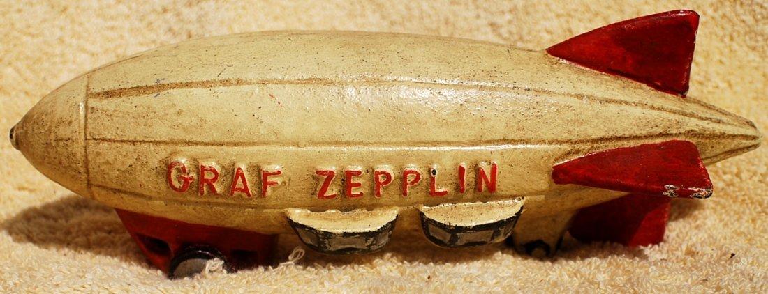 24: Graf Zeppelin cast iron airship