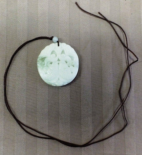 24: Chinese jade carved pendant