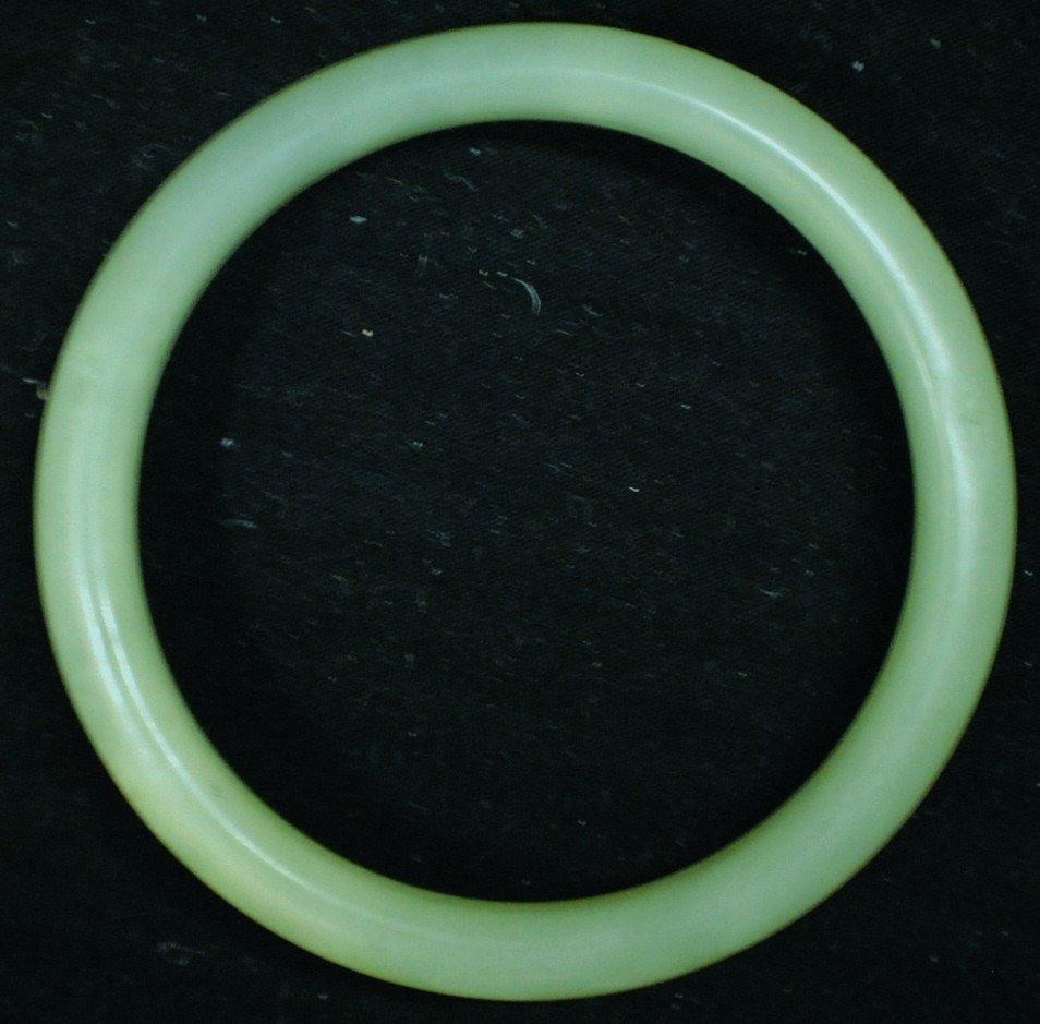 11: Jade bracelet
