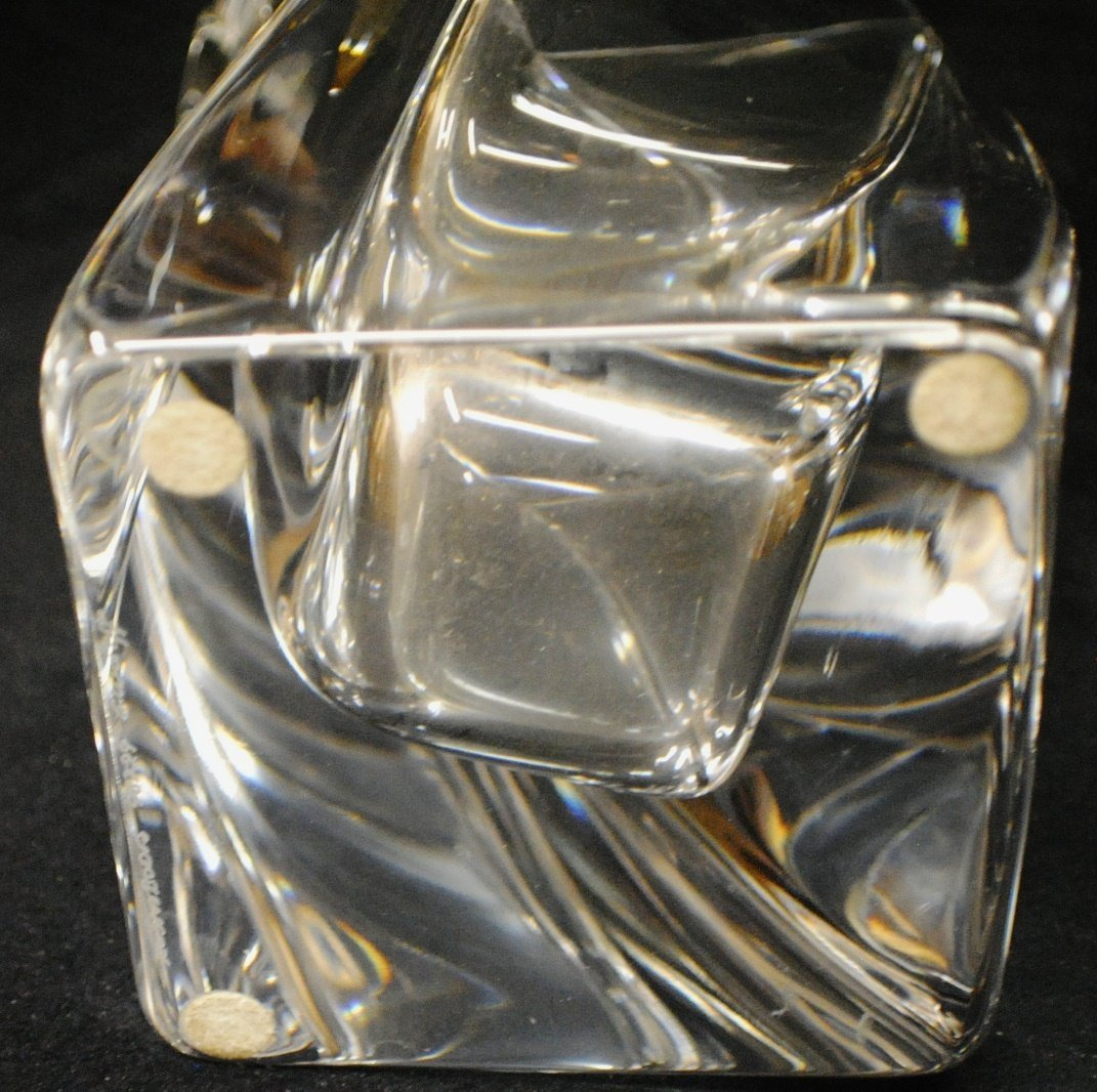 "14: Kosta Boda ""SAILS"" vase by Goran Warff - 5"