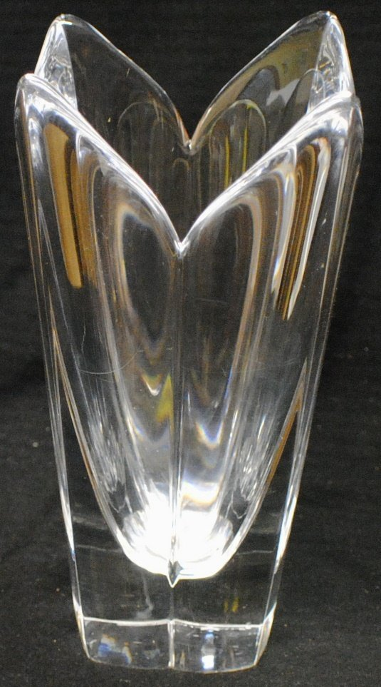"15: Orrefors Sweden ""TULIP"" glass vase"