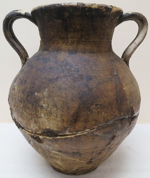 Ancient Greek Vessel with two handles