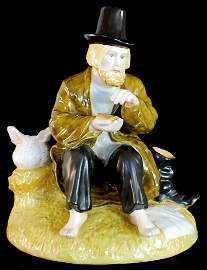 "Russian Porcelain figurine ""The Halt"". Gardner factory"