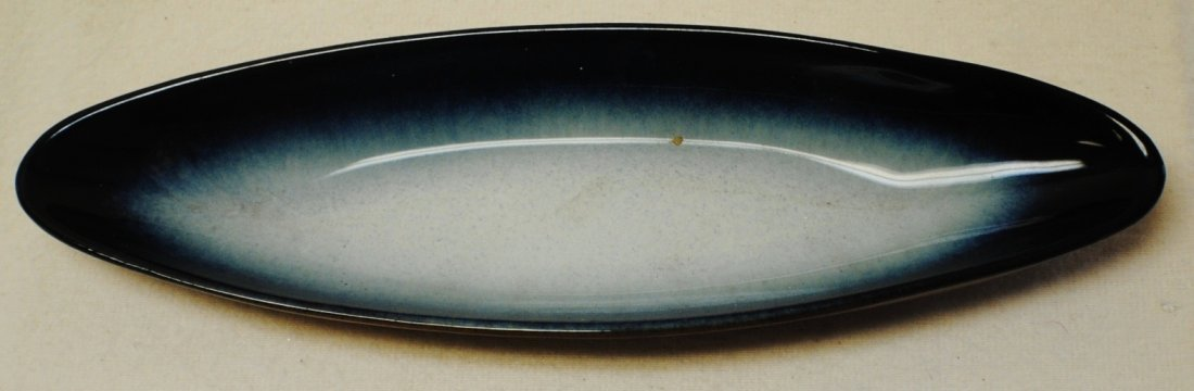 Ceramic fish plate