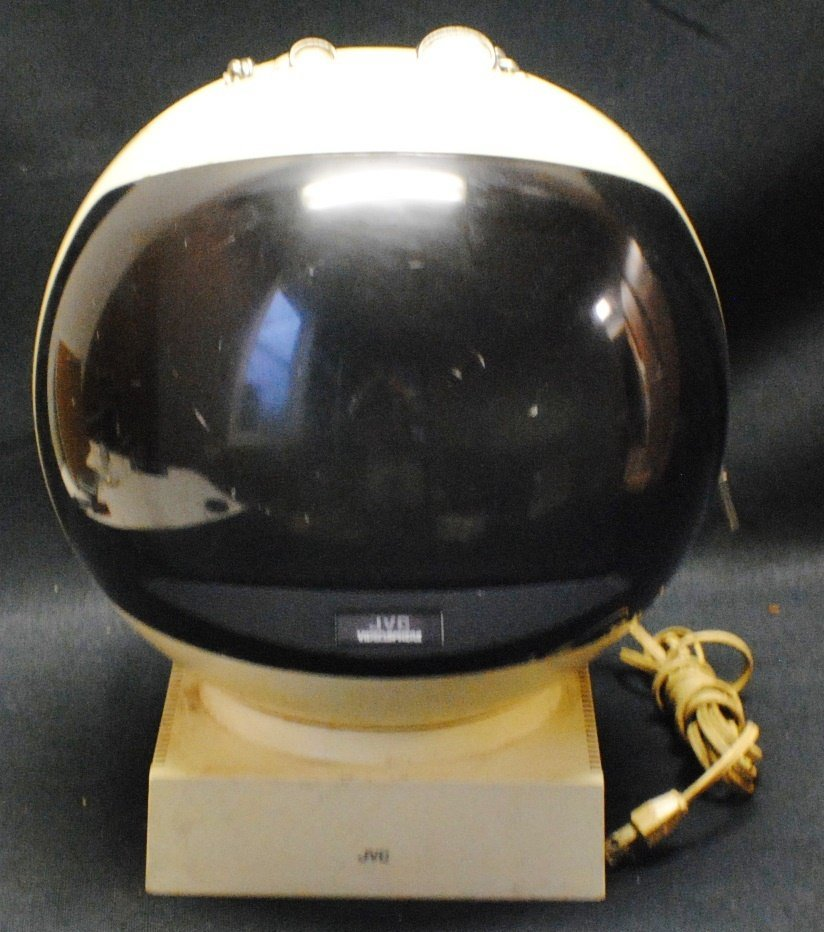 JVC Retro space helmet TV