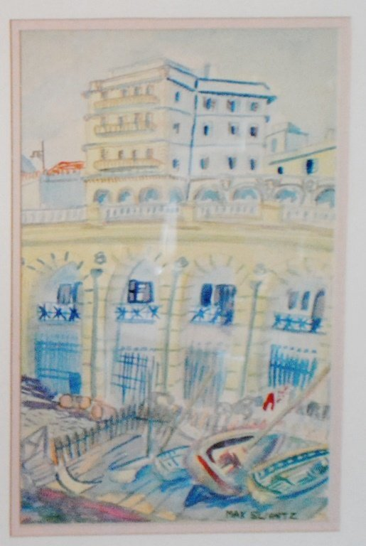 "Max Swartz ""Architectural Study"""