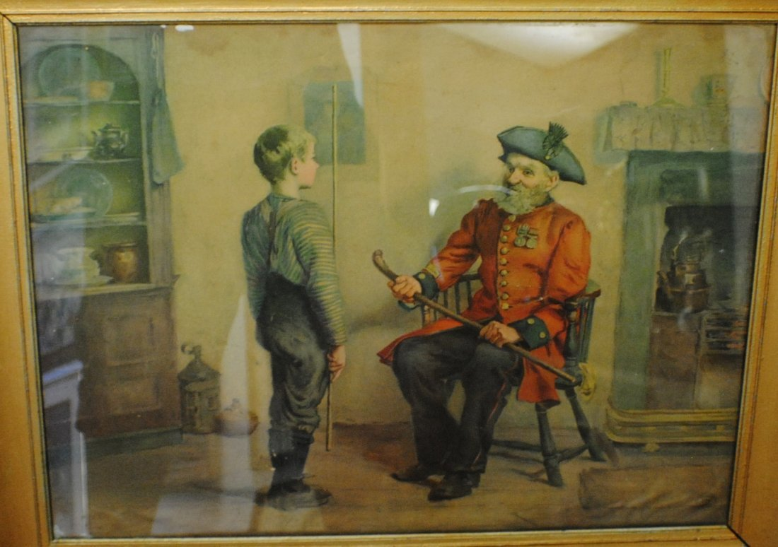 """""""Ready for Service"""" lithograph, Pearl Trademark"""