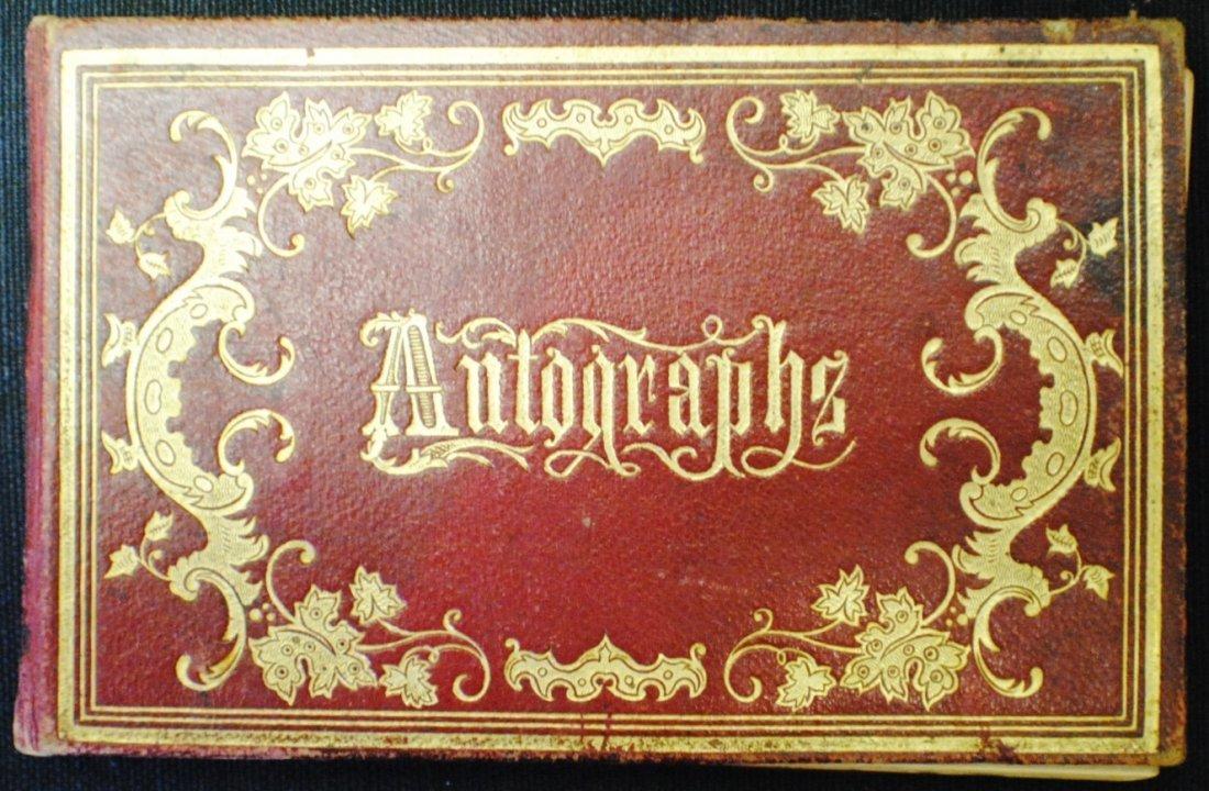 1867 Autograph book, Kimbell Union Academy