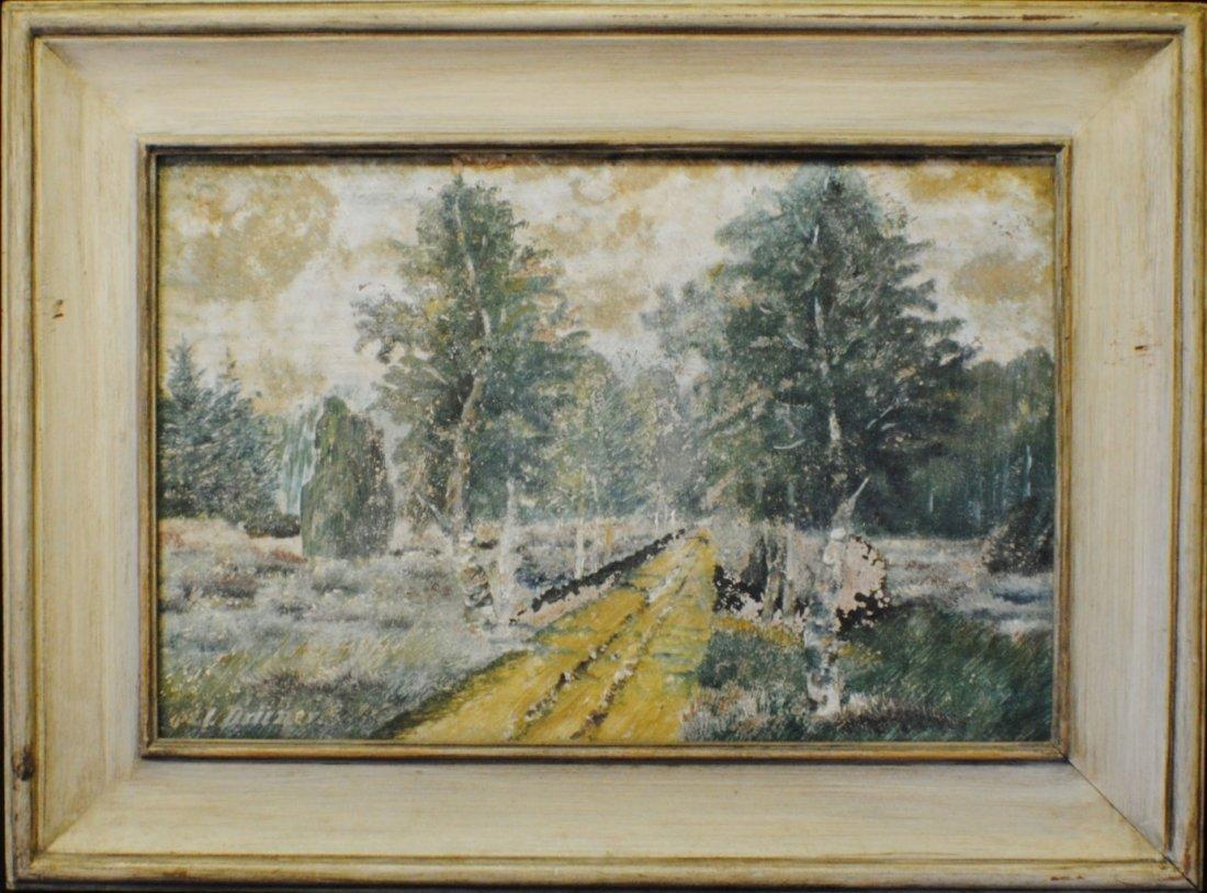 Early 20th Century European impressionist landscape