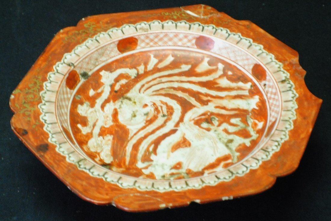 Early Japanese Kutani plate