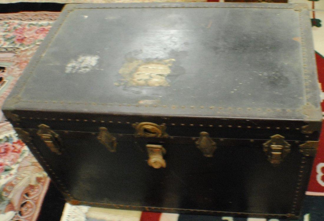 Antique R.H.Macy & Co. steamer trunk