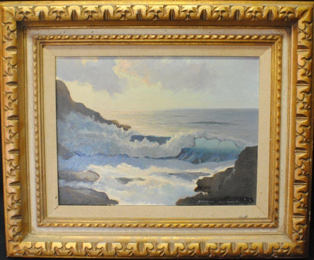 "Charles Richardson (20th Century) ""Rocky Coast"""