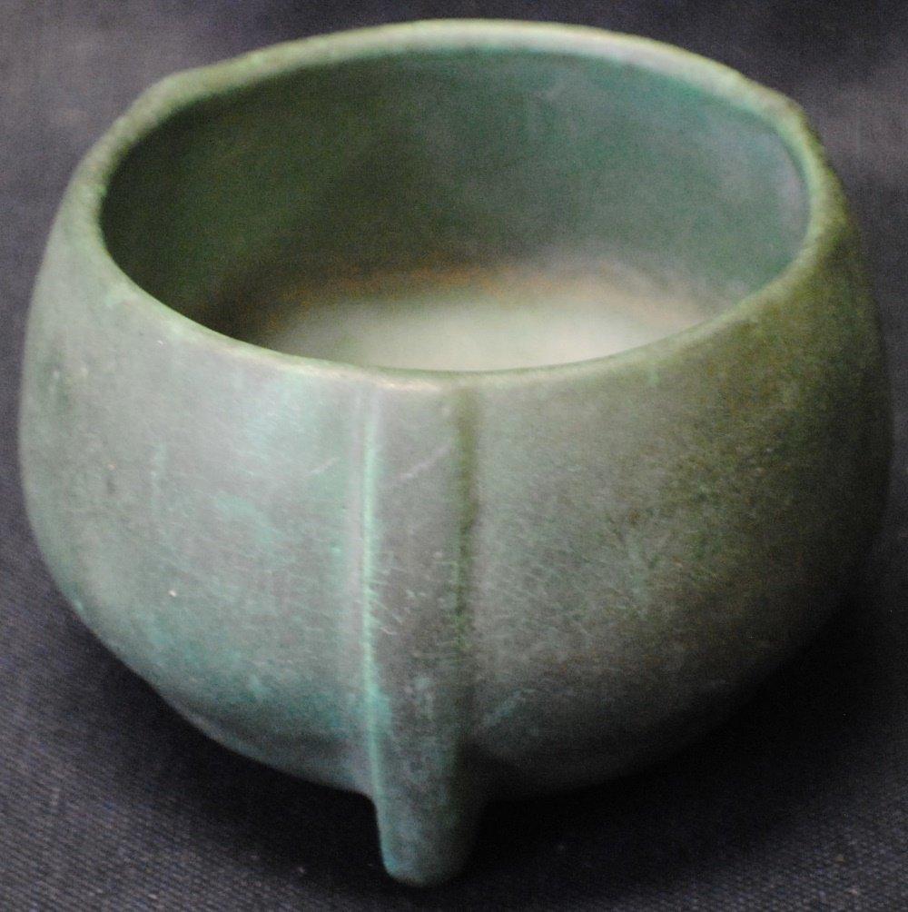 American stoneware pottery vase