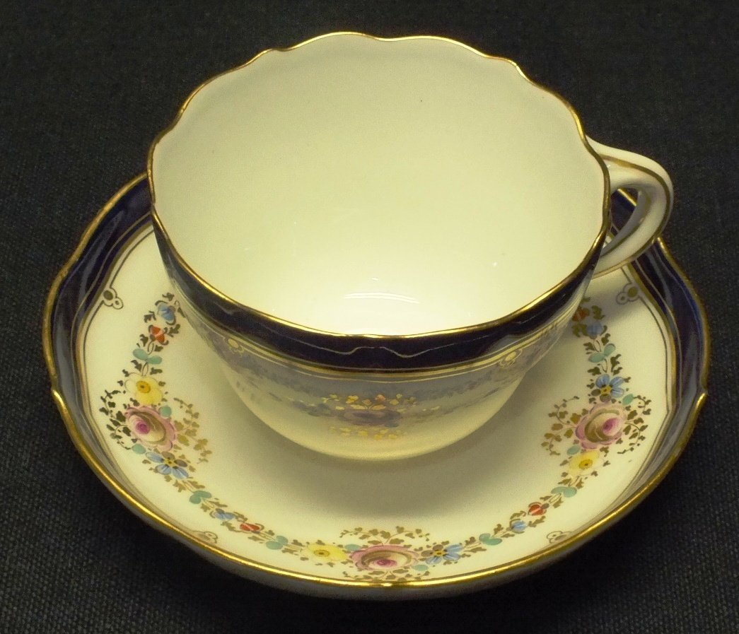 Meissen 1800's cup and saucer
