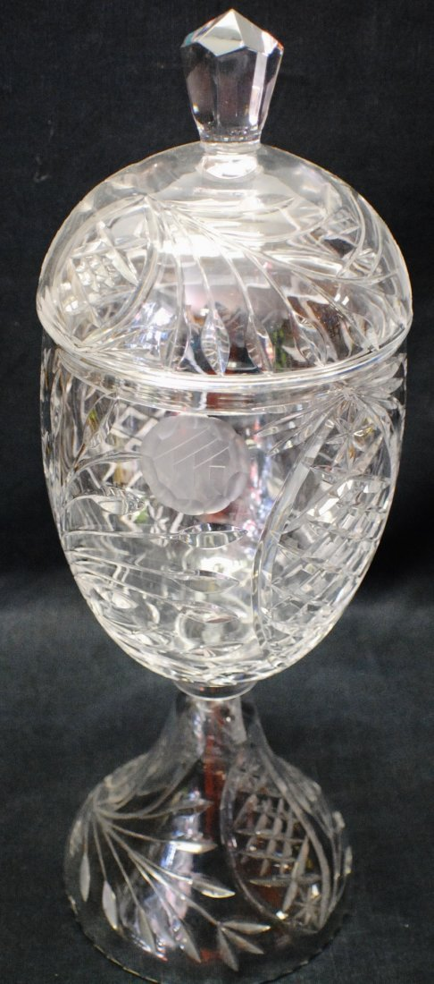 Royal Copenhagen Art Nouveau 3 handled vase