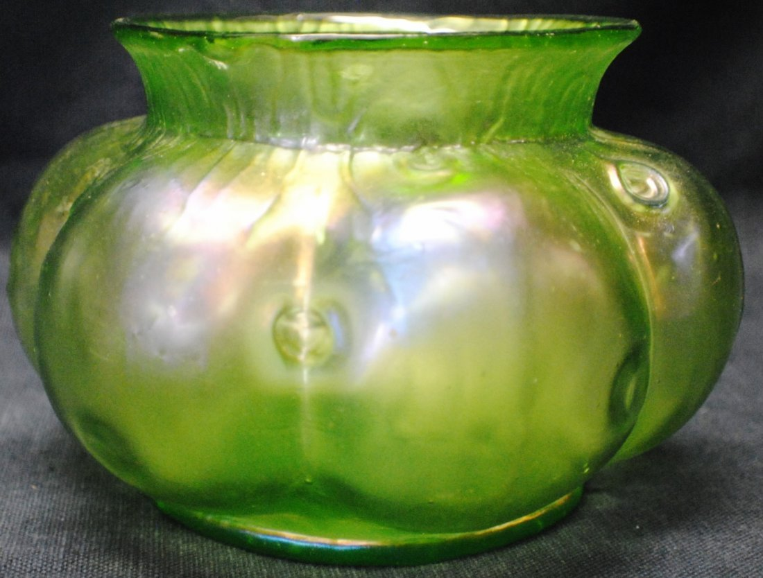 Loetz iridescent glass vase