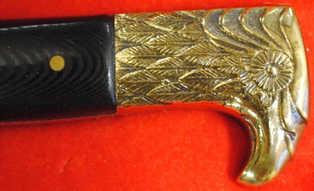 Kershaw Solingen German Golden Eagle Dagger - 6