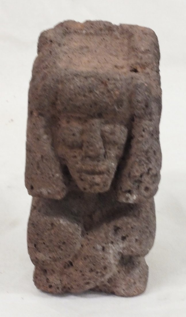 Pre-Columbian carved Pumice Stone sculpture