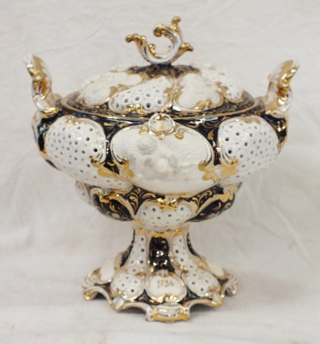 Ginori 1736 footed fruit  bowl
