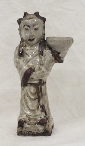 Chinese Ming Dynasty 13-15 Century Celadon Figurine
