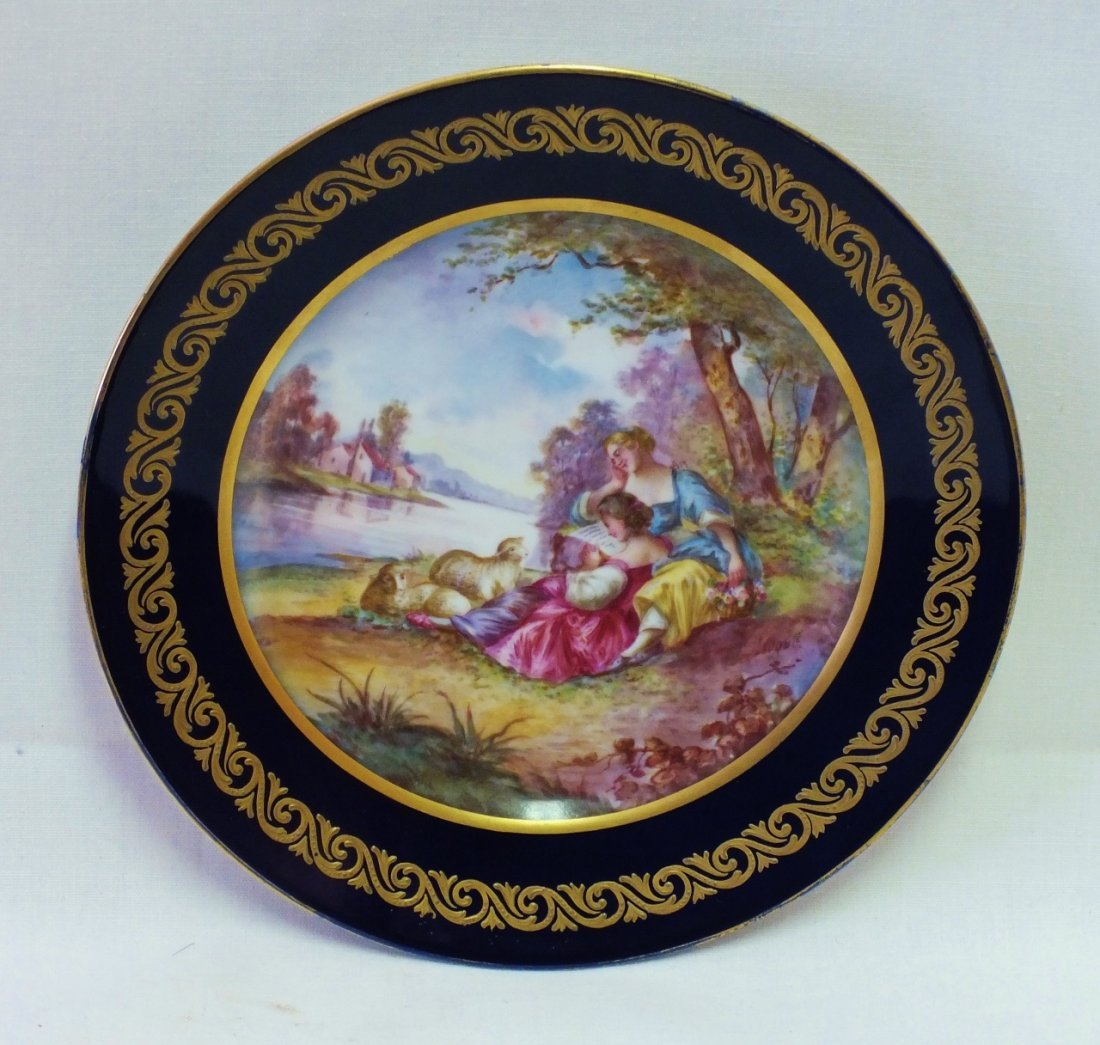 18th Century Sevres plate