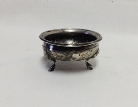 Silver Open Salt Cellar, Probably Russian