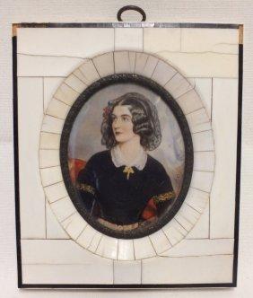 Miniature Portrait Of Lola Montez, After Dupre