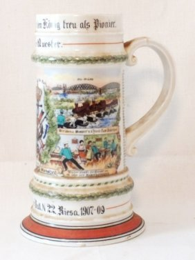 German Kaiser Beer Stein
