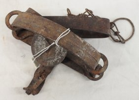 Antique Oneida Animal Trap