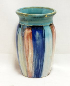 Arts & Crafts Era Hull Stoneware Vase