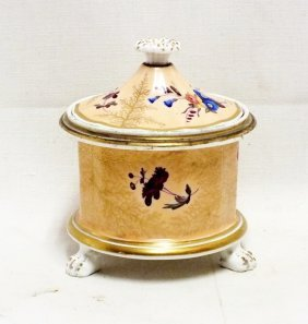 1800's Porcelain Inkwell