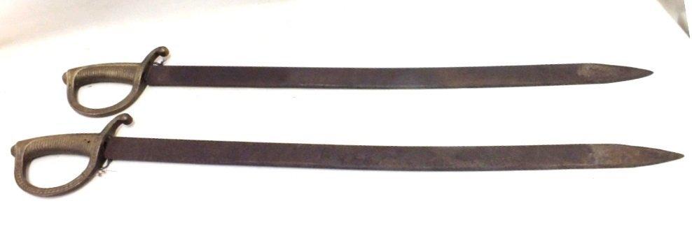 Pair of 1820 Spanish Toledo swords