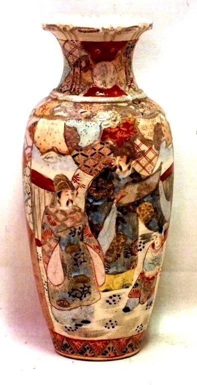 Japanese Samurai vase