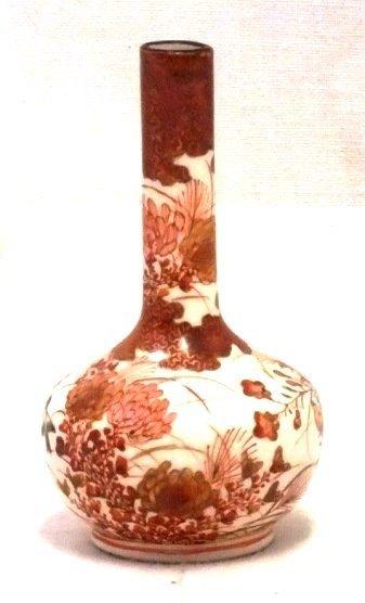 Japanese Meiji period vase