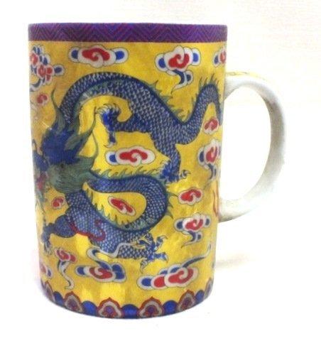 Chinese mug with dragon
