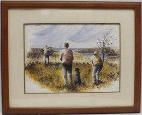 """Susannah Howland """"hunting Scene"""""""
