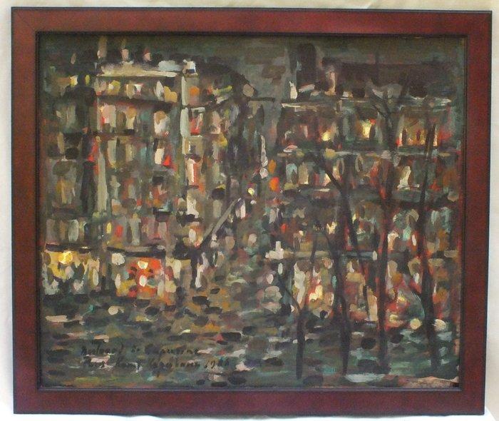 "Constantin Korovine (Russian, 1851 - 1939) ""Paris"