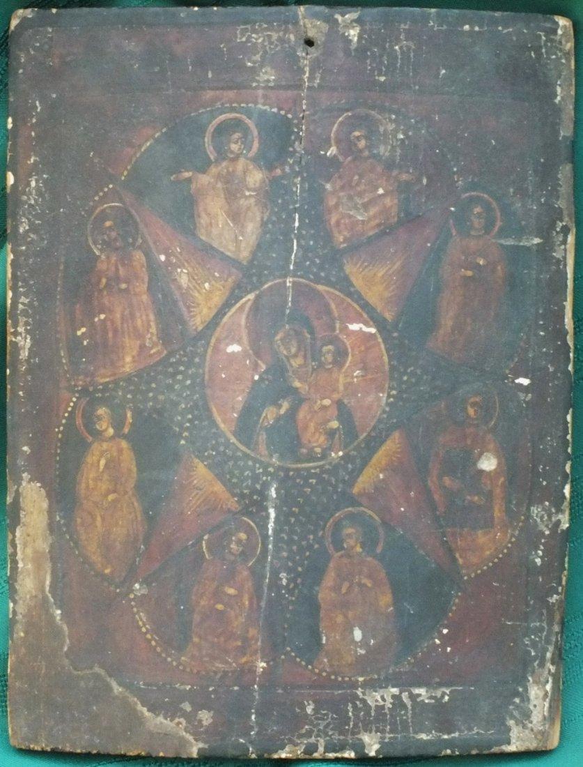 Russian 18th Century icon