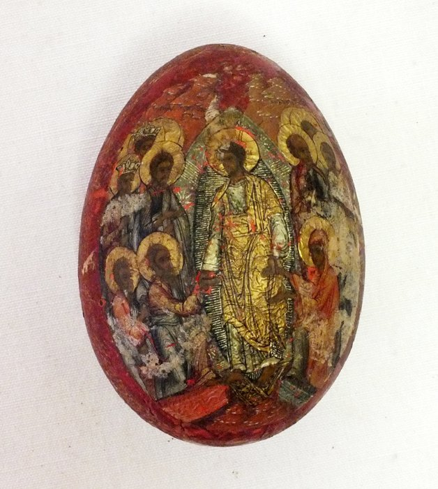 Russian 19th Century Religious Easter egg