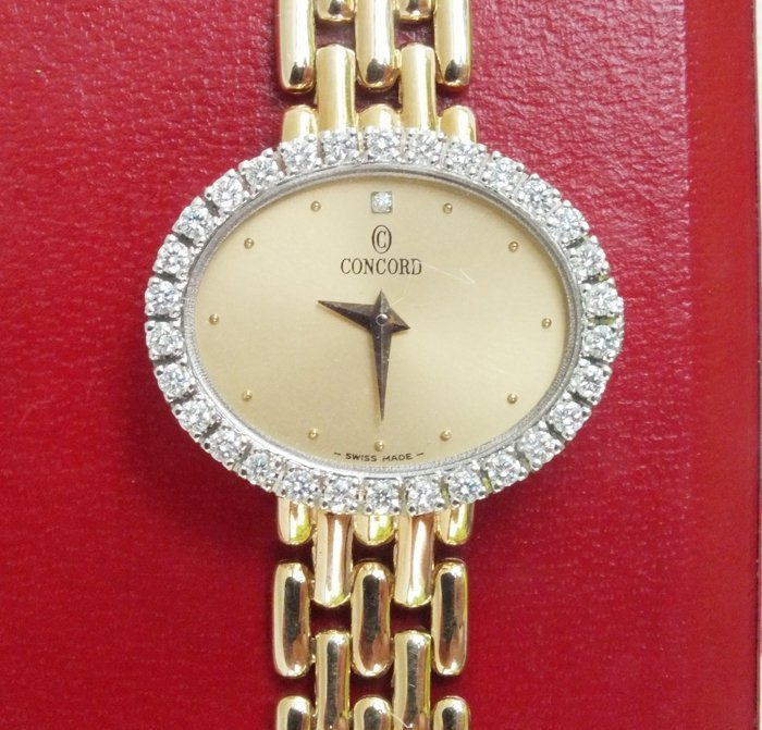 Concord 14K gold and diamond Lady's watch